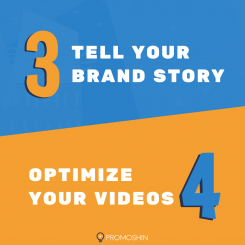 Tell your brand story. Optimize your videos.
