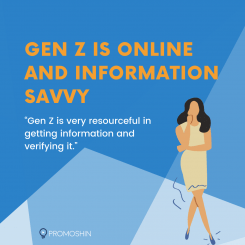 Gen Z is online and information tech savvy