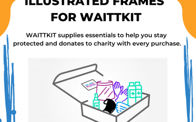 Illustrated Frames From Our Video for Waittkit
