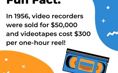 Fun Fact About Video Recorders and Videotapes