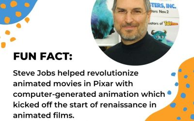 Fun Fact About Steve Jobs and Pixar