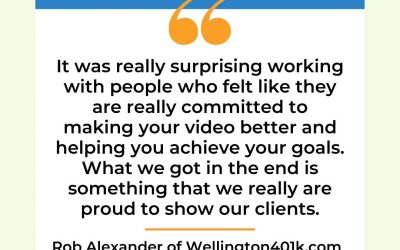 Customer Testimonial from Wellington401k.com
