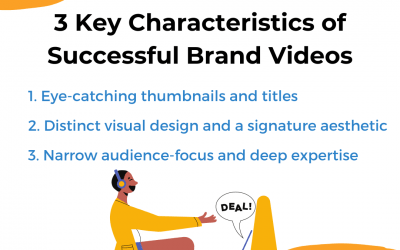 3 Key Characteristics of Successful Brand Videos